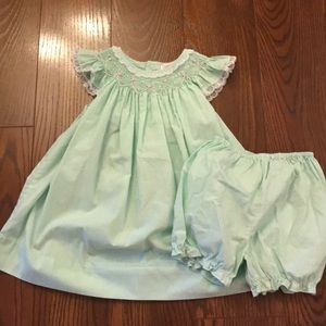 Petit Ami dress and bloomers
